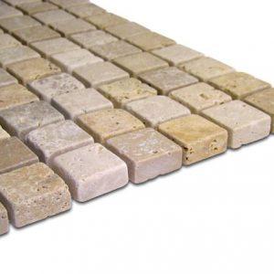 Travertin Bistrita Mosaic Mix